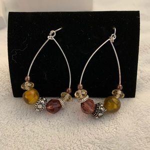 Beaded Hook Earrings